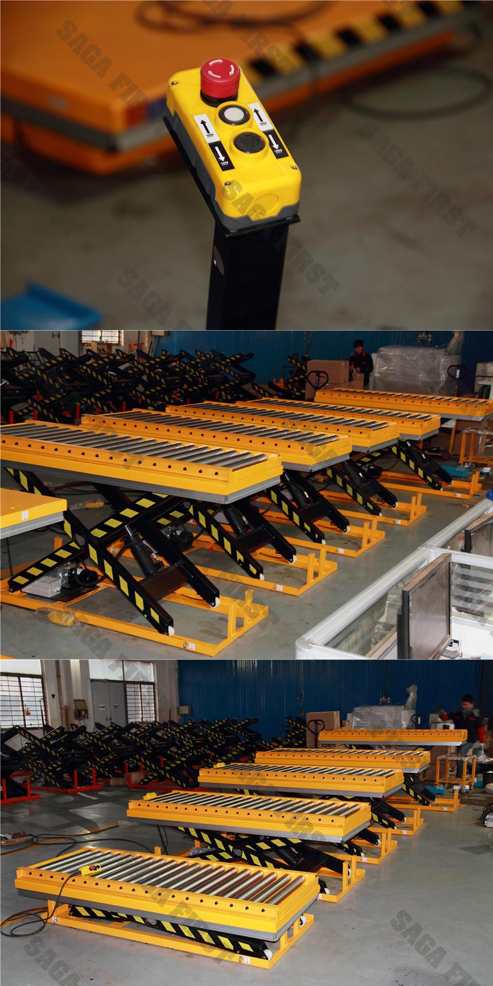 heavy duty roller lift table