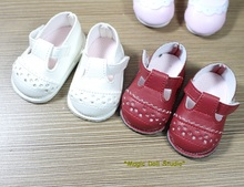 "[DY095]Free Shipping 16"" Disyne Doll Shoes # Soft Leather Shoes for 16 inch girl doll shoes for retail doll accessories"