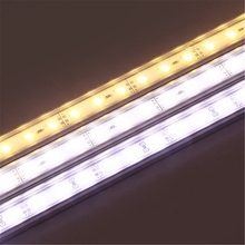 50cm 9W 1800lm Aluminum Waterproof IP44 SMD 7020 36 LED Bar Light Rigid LED Strip Cabinet Light DC 12V