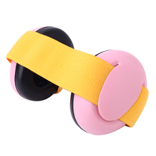 Adjustable Hearing Protection Baby Earmuffs Size 0-18 Months Child Noise Reduction Ear Protector Ear Muffs for Infant Toddler(China)