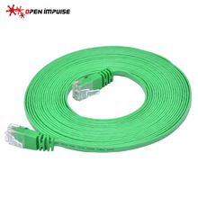 NEW Green Cat6 Network Cable High Performance Lan Ethernet RJ45 Cable Patch Cord for Router Switch 5m(China)