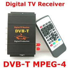 HD Car Auto DVB-T MPEG4 One Tuner HD Mobile Digital TV Receiver Box Fit for Europe Car DVD Player GPS Rated 5.0 /5 based on 2 cu