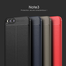 For Xiaomi Mi Note 3 Case 5.5 inch Luxury Ultra-Thin Soft TPU Leather Design Phone Cases For Xiaomi Mi Note 3 Note3 Coque Fundas(China)