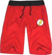 Justice League popular short Jay Garrick Barry Allen Wally West Bart Allen half short The flash superhero costume casual short(China)