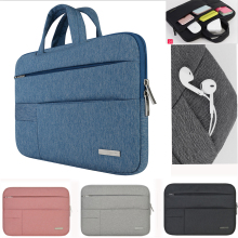 Laptop bag for Dell Asus Lenovo HP Acer Handbag Computer 11 12 13 14 15 inch for Macbook Air Pro Notebook 15.6 Sleeve Case(China)