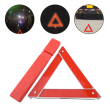 CITALL Car Auto Foldable Red Reflective Warning Triangle Frame w/Pack Box Emergency Breakdown Safety Hazard Travel Kit(China)