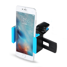 TURATA Car Phone Holder 360 Adjustable Air Vent Mount Phone Holder for iPhone 6S 7 Plus Samsung Galaxy S7 S6 Android 3.5-6 inch(China)