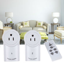 3 Pack 120V/60Hz Wireless Remote Control Power Outlet Light Switch Plug Socket With US Plug L3EF