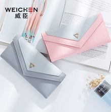New lady wallet Fashion woman purse Multi-card bit Girl money clip Manufacturer wholesale(China)