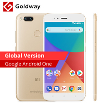 Global Version Xiaomi Mi A1 MiA1 4GB RAM 64GB ROM Mobile Phone Snapdragon 625 Octa Core 4G FDD LTE Dual Back 12.0MP Android One(Hong Kong)