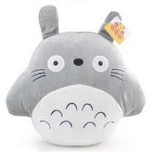 40x35 cm Totoro Series Pillow Warmer Blanket 1.7 m Totoro Plush Toy Pillow Quilt Dual Birthday Valentine(China)