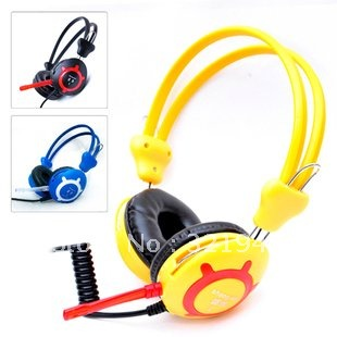 Wholesale computer headset with a microphone Internet cafe headset  PVC earphone<br><br>Aliexpress