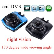 Original Full HD GT300 Car DVR 170 Degree Wide viewing Angle Camera Recorder Night Vision camcorder Dash Cam 2.7 inch carcam(China)