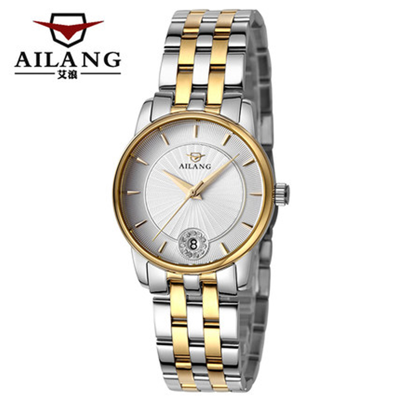 AILANG fashion quartz watch Relogio Feminino watch women dress luxury brand with a gold bracelet watch montre femme<br>