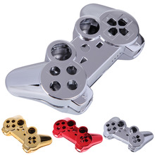 1 Pcs Red/ Golden/ Silvery color Wireless Controller Full Housing Shell Case Controller Protector for PS3 case(China)