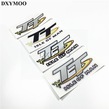Car Styling TT ISLE OF MAN Car Motor Sticker Decals Reflective Waterproof for Motorcycle Car Helemet Bike etc(China)