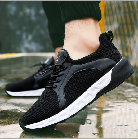 New 2017 Men Casual Shoes Spring Autumn Mens Trainers Breathable Flats Walking Shoes Zapatillas Hombre Walking Shoes Shoes Male <br><br>Aliexpress