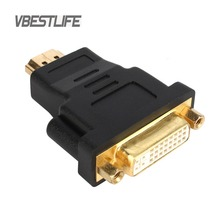 VBESTLIFE Audio Cable HD 1080P Gold Plated HDMI male to DVI 24+5 female Graphics Card Converter adapter for HDTV LCD DVI Cable(China)
