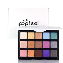 POPFEEL Professional 15 Color Magic Glitter Eyeshadow Palette Matte Pigment Makeup Eye Shadow Shimmer Cosmetics Maquillaje Z3(China)