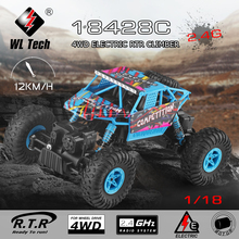 Buy WLtoys 1:18 RC Car 2.4G 4WD Double Steering Gear Electric RTR Climber RC Car Suitable Children for $35.99 in AliExpress store