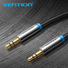 Vention Aux Cable For Golf Citroen Audi 3.5 Jack to 3.5mm Jack Audio Cable 1m 3.5mm mini jack Cable For Headphone Beats Speaker