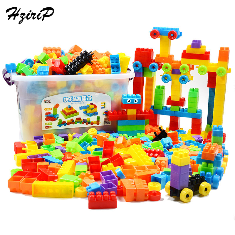 Hzirip Large Particles Of Wood Storage Box With Spell Insert Early Education Building Blocks 3-6 Years Childrens Creative Toys <br>