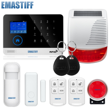 Security Wireless GSM Wifi Alarm System Home automation Alarma Cases System Smart Alarm Domotica Home Security Systems(China)