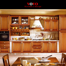 Wood kitchen cabinet for small kitchen(China)