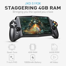 JXD S192K Handheld Game Players 7 inch RK3288 Quad Core 4G/64GB GamePad 10000mAh Android 5.1 Tablet PC Video Game Console(China)