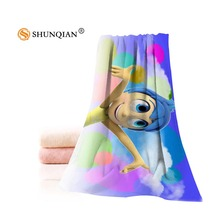 New Custom Inside Out Towel Printed Cotton Face/Bath Towels Microfiber Fabric For Kids Men Women Shower Towels A7.24(China)