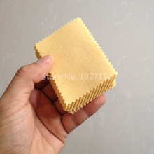 500pc Yellow Microfiber Cleaning Cloths For Tablet Cell Phone Laptop LCD Screen New(China)