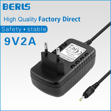 2 PCS High Quality 9 V 2 A Switching Adapter Power Supply DC 5.5*2.1mm EU Plug