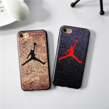 Luxury Brand Jordan Dunk fly air man case for iPhone 6S 6 Plus 7 7 Plus 5s SE Soft cover For iphone 6 6s 5 Phone Cover Cases