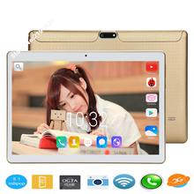 Tablet 10 inch Octa Core 4GB RAM 64GB ROM Tablet PC Dual SIM Cards 3G WCDMA Android 5.1 GPS Tablet PC 32GB ROM 10 10.1 +Gifts