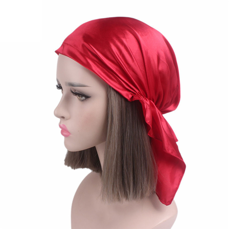 Women Summer Hats Fashion Casual New Arrivals Cancer Chemo Hat Beanie Scarf Turban Head Wrap Cap Hot Sale Hats #J19 (8)