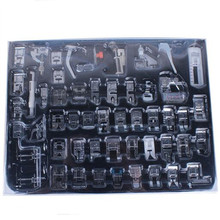 52 PCS Domestic Sewing Foot Set for Singer, Brother, Janome,Kenmore, Elna,.Toyota,Etc,New Home,Low Shank Sewing Machines 7YJ31
