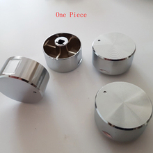 1 Piece Rotary switch gas stove parts gas stove knob zinc alloy round knob with chrome plating
