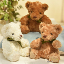 5 pieces a lot lovely  teddy bear toy colourful plush high quality teddy bear toy birthday gift doll about 20cm