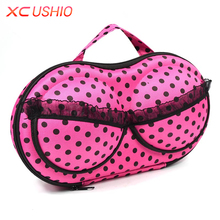 Travel Portable Women Bra Storage Case Protect Underwear Travel Bag Lingerie Bra Storage Box Organizer(China)