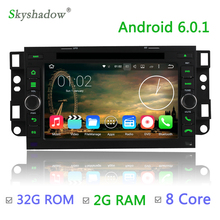 Octa core 2G RAM 32G ROM Android 6.0 Car DVD Player GPS Radio For Chevrolet Epica Aveo Lova Captiva Spark Optra Matiz Spark Joy