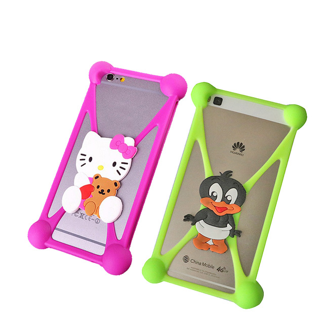 Cartoon universal 4.0-5.5 inche Case Cover Vertex Impress Eagle HomTom S8 s16 Grace R7 Micromax Q351