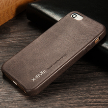For apple iphone 5 5s se i5 iphone5 cases X-Level vintage pu leather+canvas mobile phone case luxury Simple business cover coque(China)