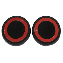 A Pair Black Replacement soft Faux Leather Memory Foam Earpads Ear Pads Cushion For Dr Dre Solo2 Solo 2.0 Wired Headphones