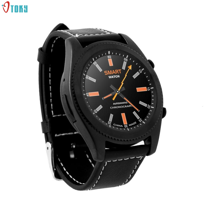 OTOKY Dignity 2017 Smart Wristwatch Bluetooth Fashion Pedometer New Heart Rate Watches reloj For iOS Android Dropshipping Mar24<br>