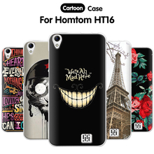 "Buy EiiMoo Cartoon Silicone Case Homtom HT16 5.0"" Coque TPU Back Cover Doogee Homtom HT16 Case Cover Homtom HT16 Pro for $2.18 in AliExpress store"