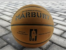 famous Brand top  Quality Genuine leather Marbury Basketball Ball PU Materia Official Size7 Basketball Free shipping