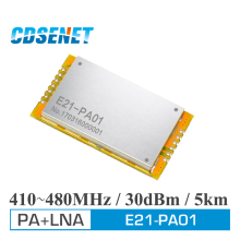 Wireless rf Module 410MHz-480MHz Long Range iot Transceiver CDSENET E21-PA01 SPI SMD 1W PA LNA rf Module Power Amplifier(China)