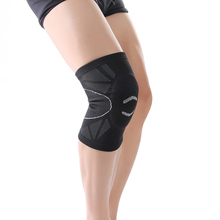 New style 3D weaving knee support built-in EVA foam pad sports fitness cycling hiking knee protect brace #sbt17(China)