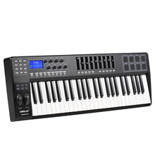 PANDA49 49-Key USB MIDI Keyboard Controller 8 Drum Pads with USB Cable