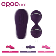Vibrating Eggs Wireless Remote Control Jump Eggs Silicone Vibrator Ben Wa Kegel Balls Exercises Sex Toys Adult Product for Women(China)